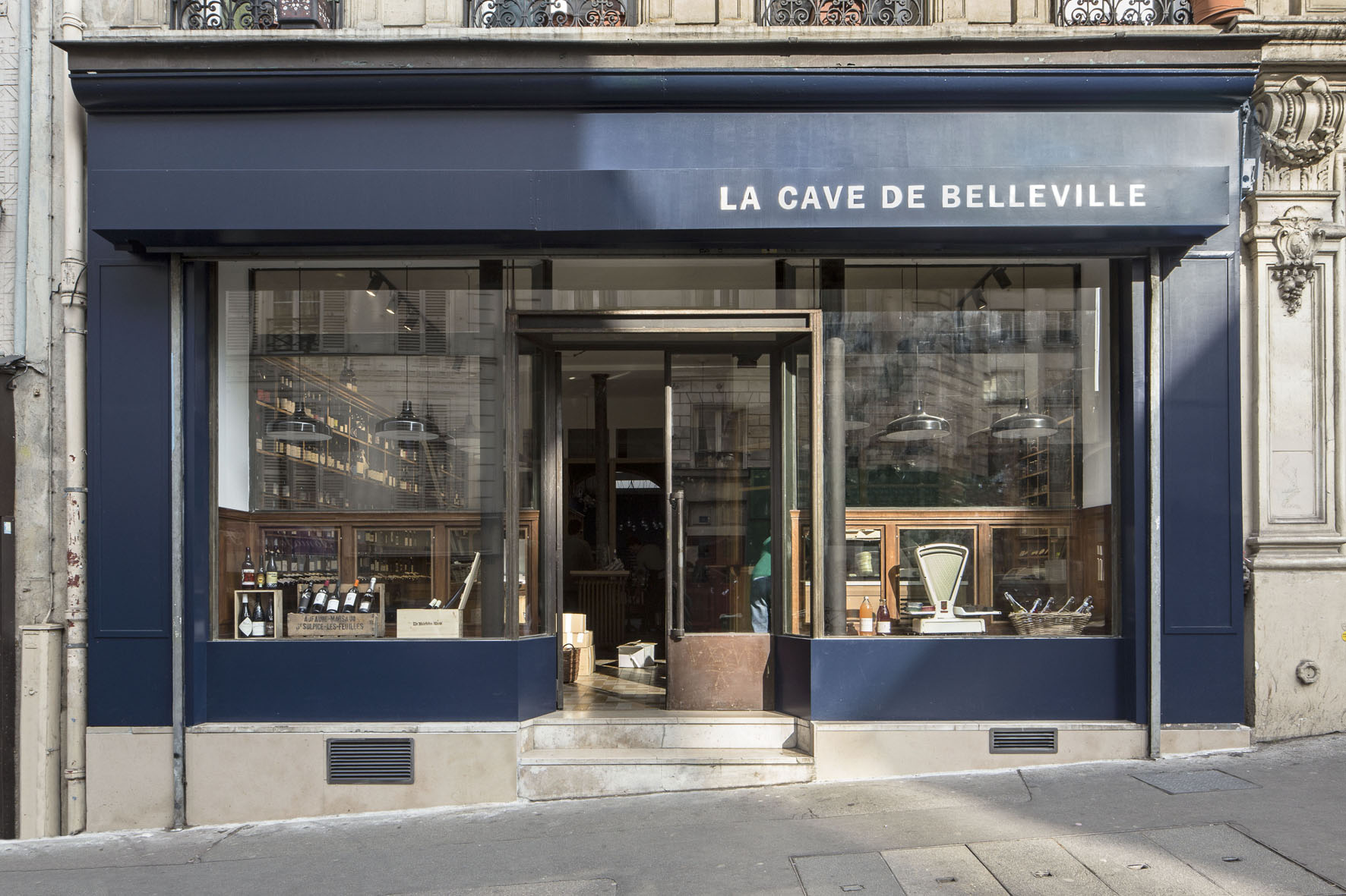restaurant la cave de belleville paris capitale. Black Bedroom Furniture Sets. Home Design Ideas