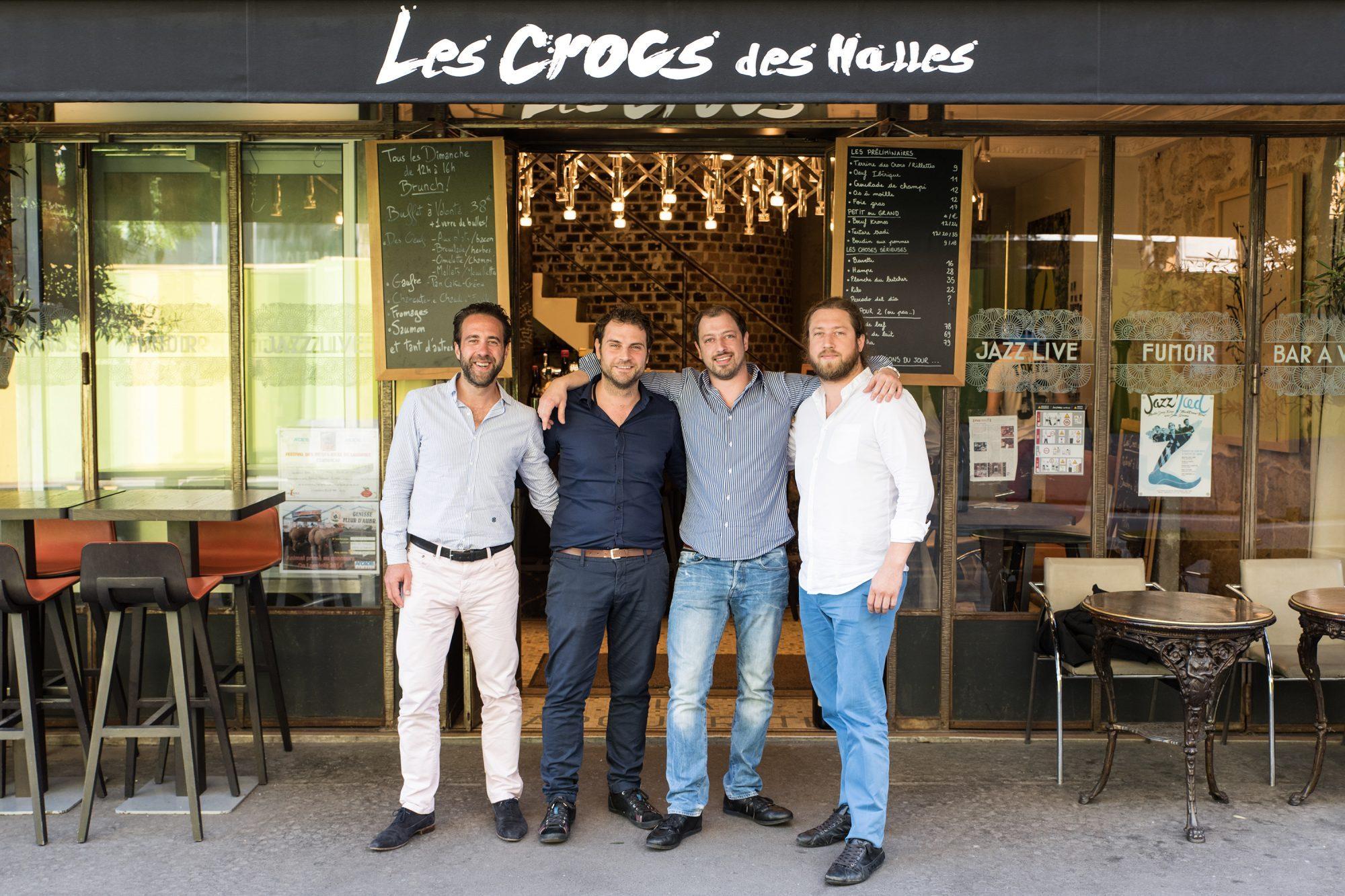 Restaurant bistronomique les crocs des halles paris capitale - Lapeyre rue des halles ...