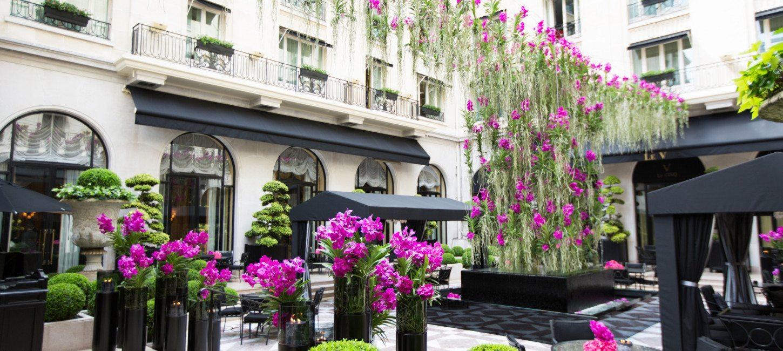 Four seasons hotel george v paris capitale - Hotel georges v paris prix chambre ...