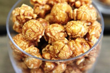 Craquants pop-corn