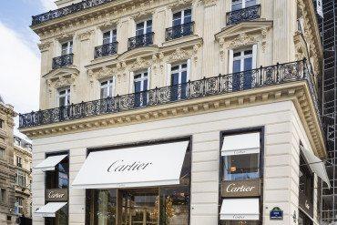 A new Cartier boutique On the Champs-Élysées!