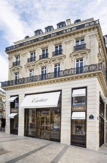 A new Cartier boutique
