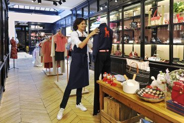 Inès de la Fressange invents the chic – and fun – bazar!