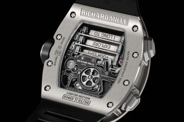 Richard Mille Messages brûlants et rouge passion