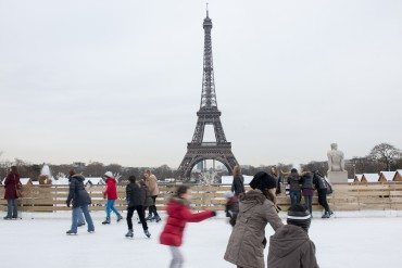 Trocadéro on Ice