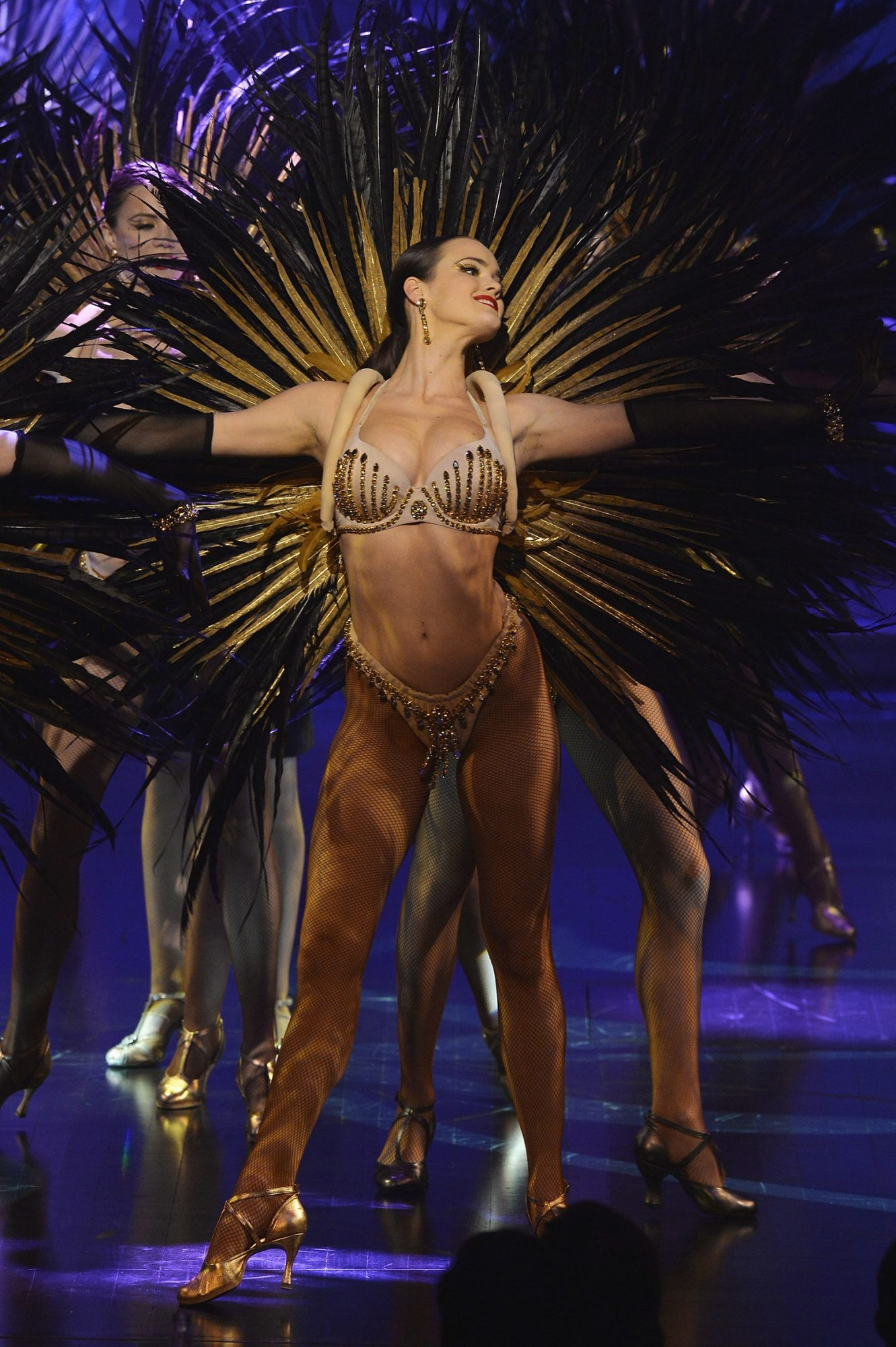 'Paris Merveilles' Lido New Revue : The Show At Opening Gala In Paris
