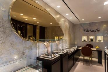 Première boutique Pour les bijoux Christofle