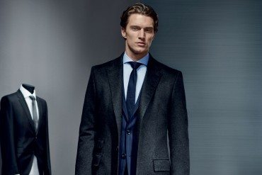 Le businessman trendy Le style gagnant-gagnant