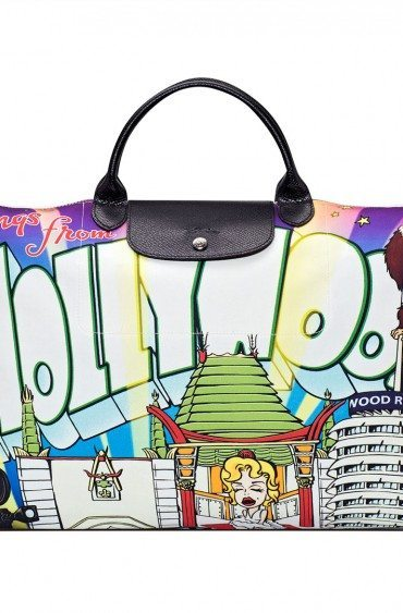 Longchamp et Jeremy Scott