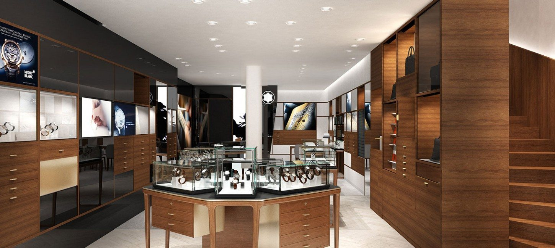 horlogerie le concept store de montblanc paris capitale. Black Bedroom Furniture Sets. Home Design Ideas