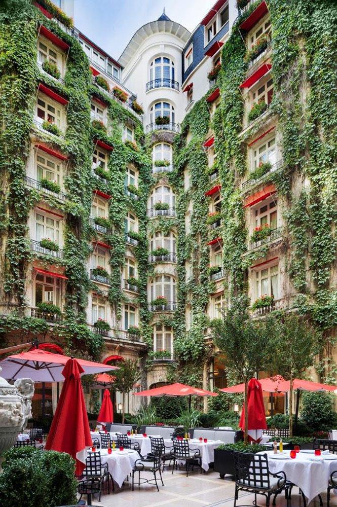 Restaurant Gastronomique - La Cour Jardin   Paris Capitale