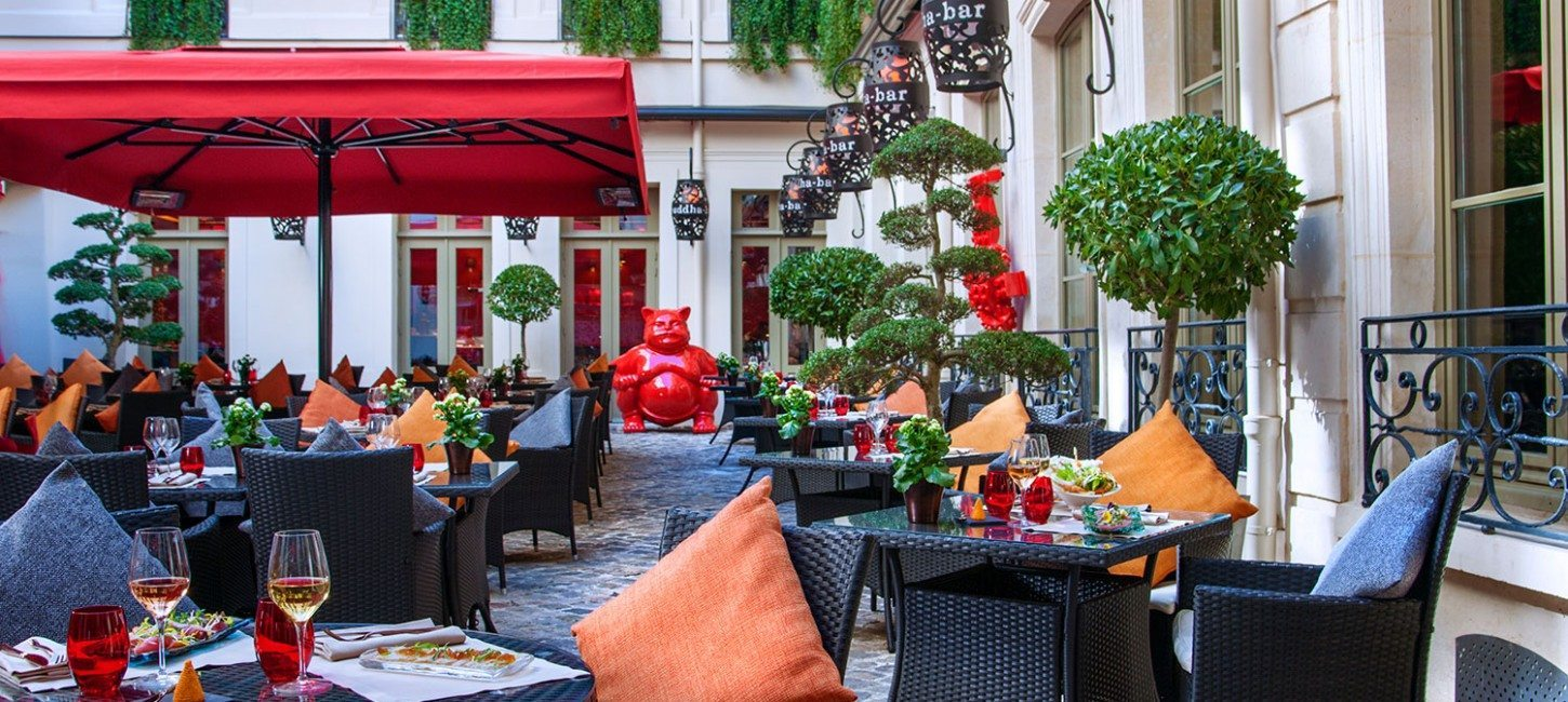 Restaurant tendance la terrasse du buddha bar paris capitale - Hotel tendance paris ...