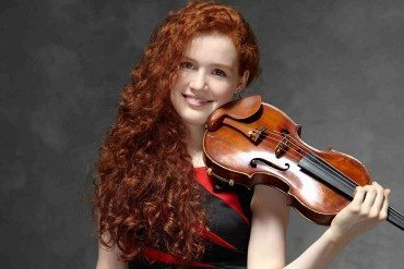 Camille Berthollet Jeune prodige du violon