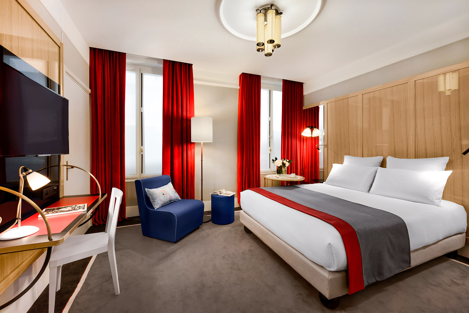 H tel l 39 chiquier paris capitale for Hotel 4 etoiles