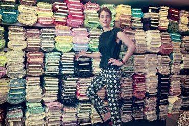 Philippine Janssens maîtrise l'art du pantalon