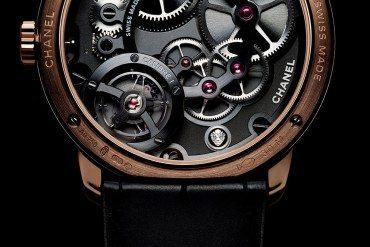Chanel Horlogerie Un affichage inédit  pour Monsieur