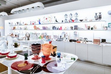 Une boutique design au Centre Pompidou