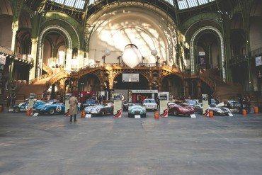 Les voitures du Tour Auto Optic 2000 au Grand Palais