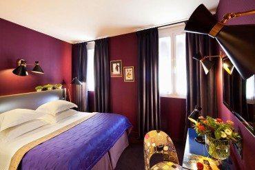 A 50's haven in Saint-Germain-des-Prés for Hôtel Artus