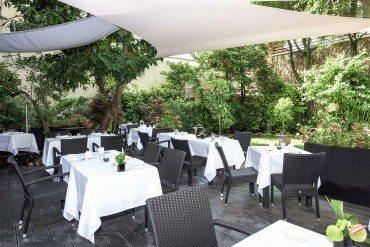 Dossiers les meilleures tables au vert paris capitale for Restaurant jardin 92