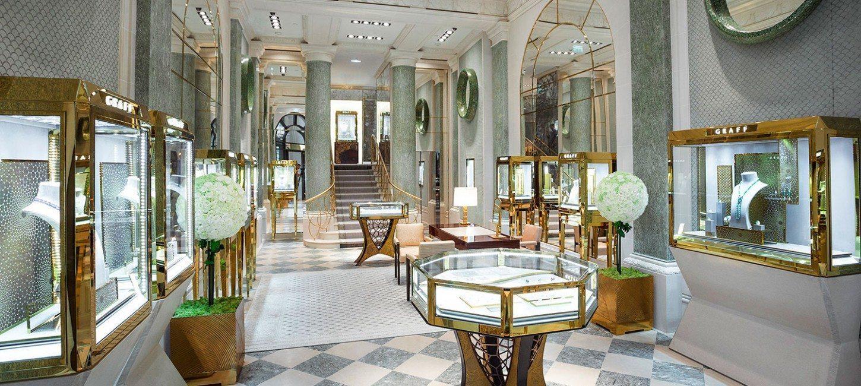 Joaillerie graff ouvre place vend me paris capitale for Boutique hotel ritz
