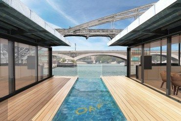 Off Paris Seine, the capital's first floating hotel