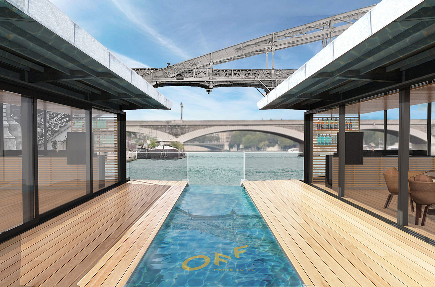 H tel 4 toiles off paris seine paris capitale for Piscine de vigneux sur seine