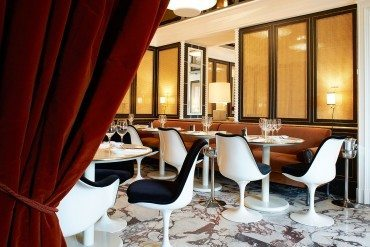 Loulou, trendy dining on the Louvre gardens