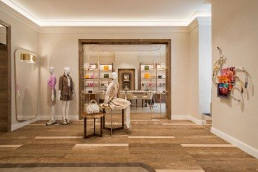 The re-opening of the Ferragamo flagship store