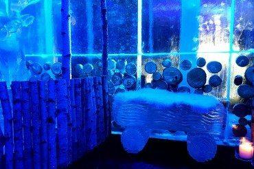 Soyez givrés au Ice Kube Bar !