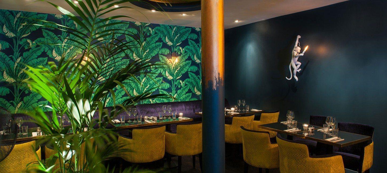 restaurant tendance le monkey paris capitale. Black Bedroom Furniture Sets. Home Design Ideas