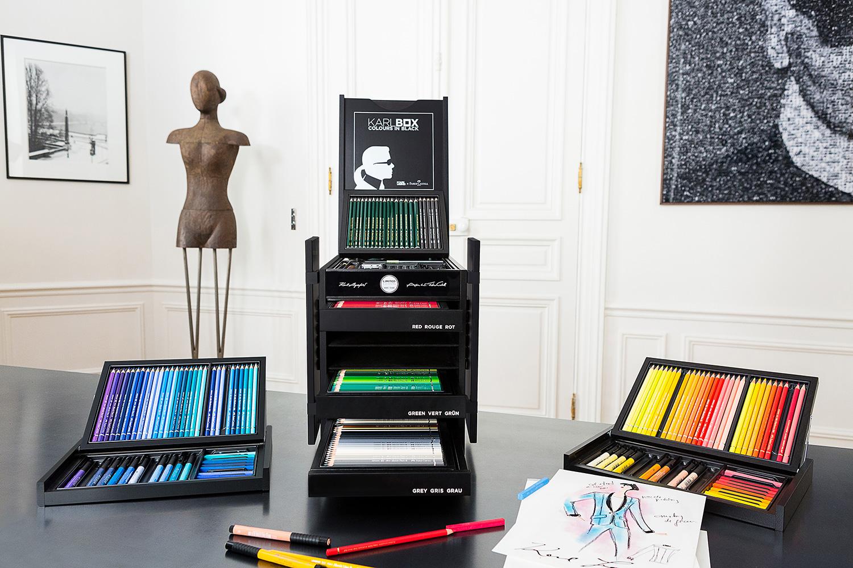 karl-lagerfeld-karlbox-faber-castell-crayon-couleur-dessin-paris-capitale-magazine