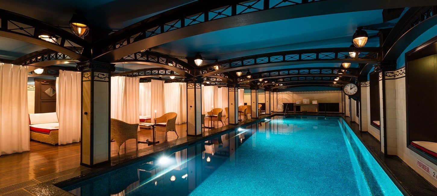 Dossier spa costes la piscine paris capitale for Spa avec piscine paris