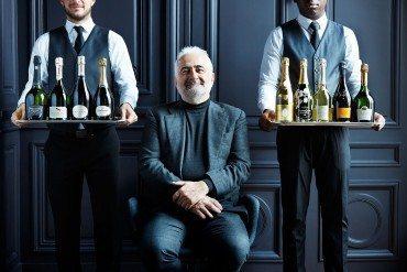 Avec Guy Savoy les champagnes sont à la fête