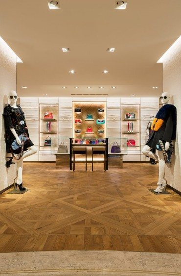 Un troisième magasin parisien pour Fendi,
