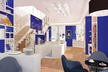 Paris flagship for Senoble