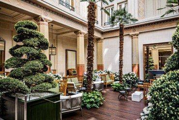 Le Patio A l'hôtel Prince de Galles