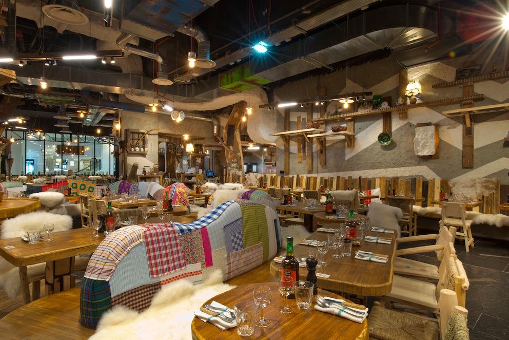 restaurant bistrot rural by marc veyrat paris capitale. Black Bedroom Furniture Sets. Home Design Ideas