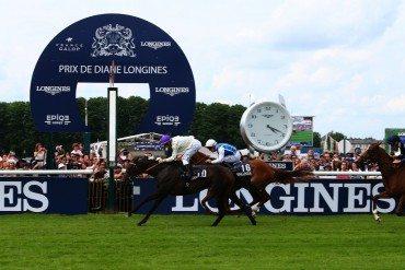 Week-end sport glamour pour le Prix de Diane Longines