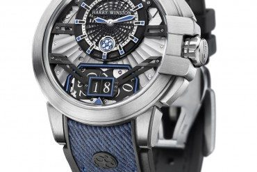 Harry Winston casual chic et choc