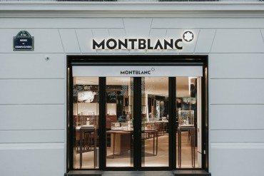 Montblanc, Une nouvelle étoile sur les Champs-Elysées