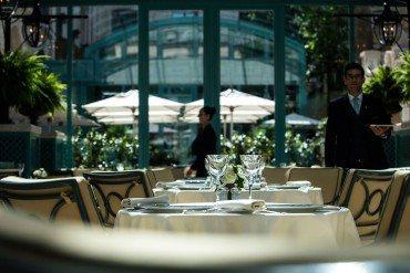 Les Jardins de l'Espadon : la belle étoile du Ritz Paris