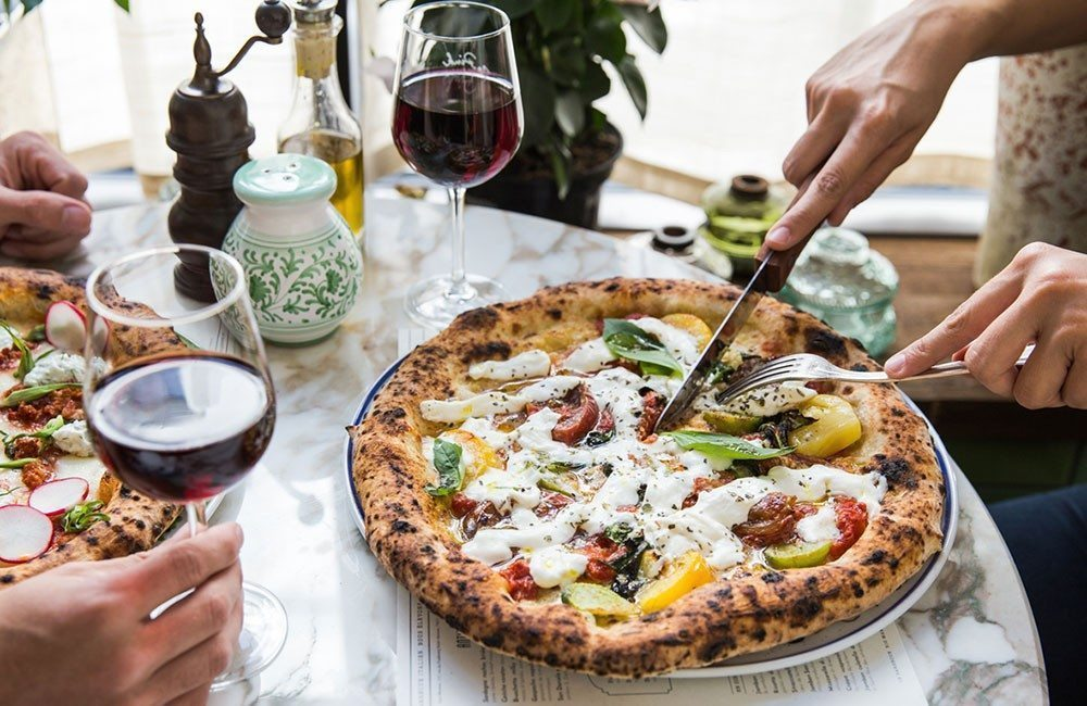 Italian Restaurant Pink Mamma Paris Capitale - But cuisine avis