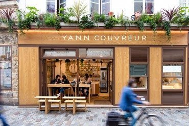 Le pâtissier Yann Couvreur