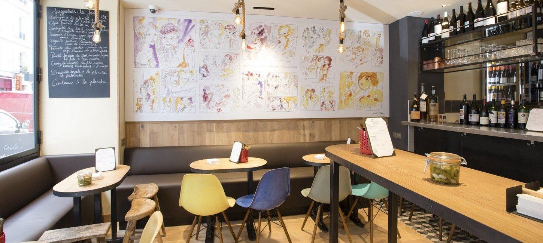 Restaurant Bistrot Wim A Table Paris Capitale