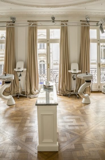 Balmain Hair Couture salon,