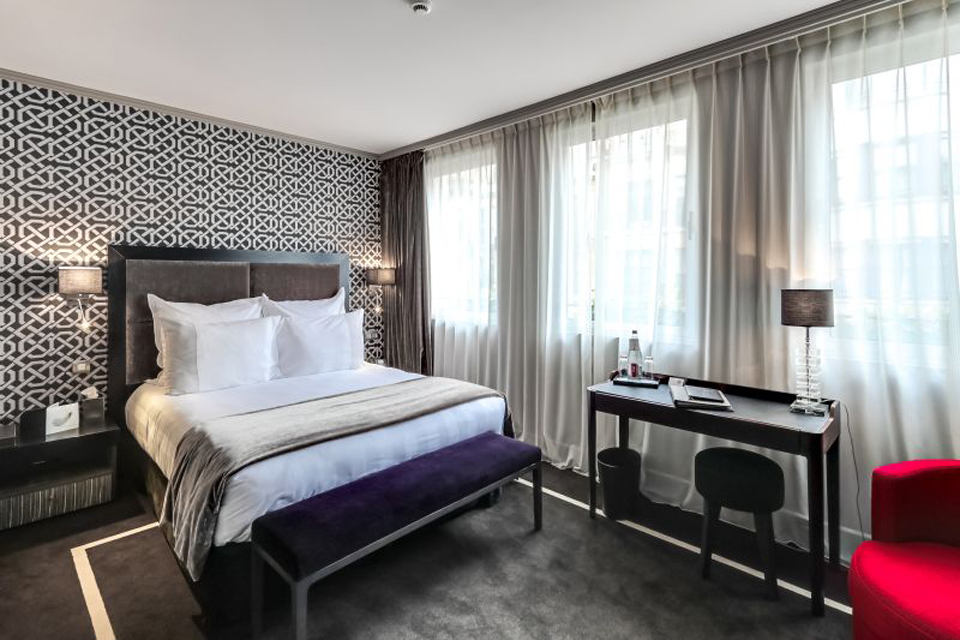 Le juliana paris capitale for Chambre 5 etoiles