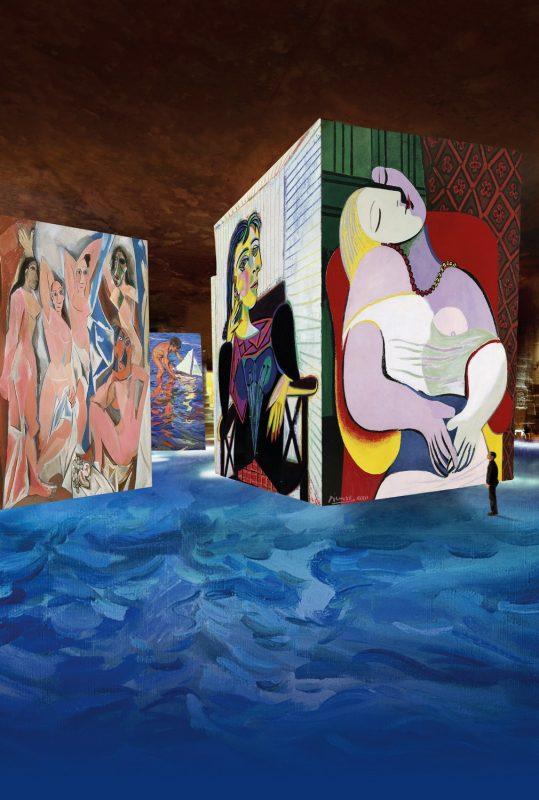 Carrière de lumière - Picasso 2018