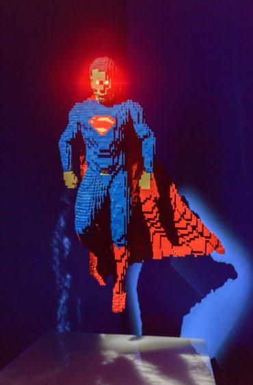 Super-héros en Lego