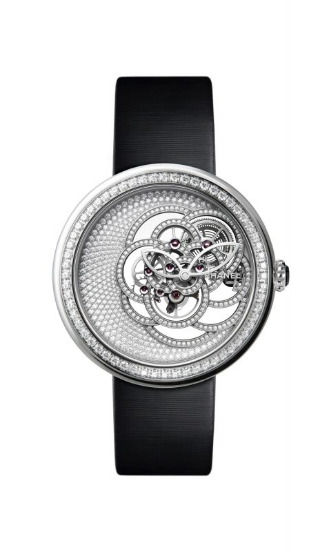 baselworld 2018 chanel montre camelia skeleton